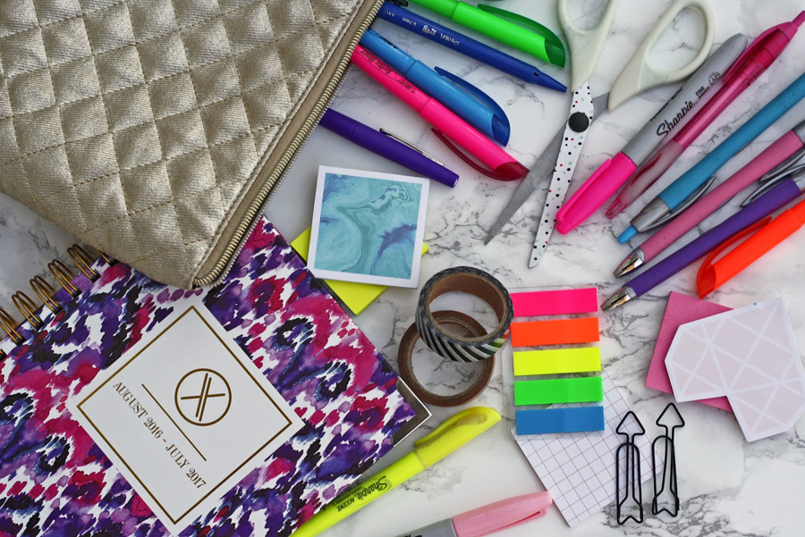 JORDAN HEBL How to Use Your Planner - college planner organization