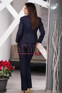 Costum dama bleumarin elegant • MBG2
