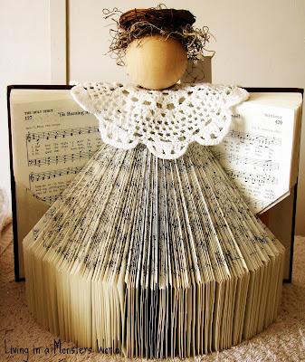 Engel Aus Büchern Basteln Dansenfeesten