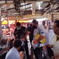 Seorang Pedagang Reaktif, Setelah Di Rapid Test di Pasar Sarolangun