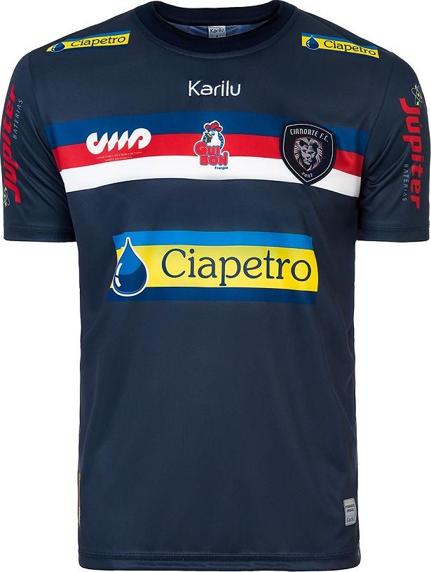 Karilu apresenta nova camisa titular do Cianorte - Show de Camisas 536b07f12d8be