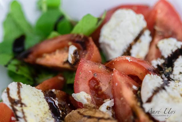 Salad Macro Photography