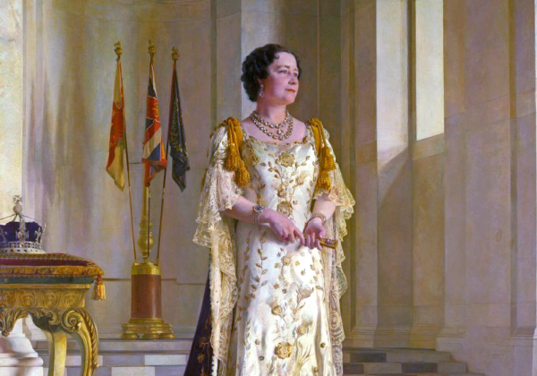 13++ Queen Elizabeth Coronation Portrait