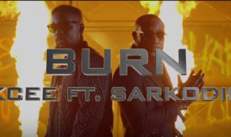 Video Kcee ft. Sarkodie – BURN