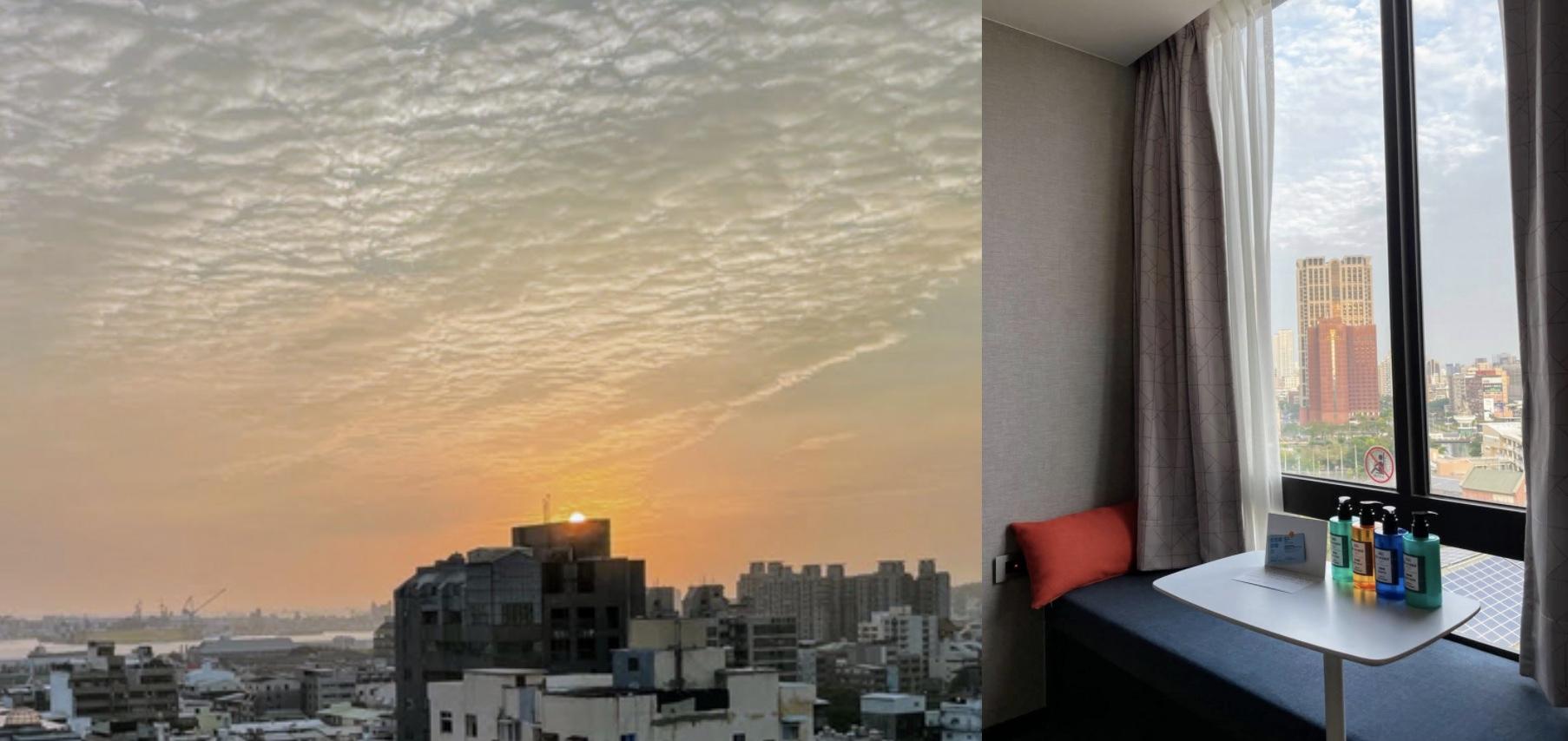【高雄|鹽埕區】高雄愛河智選假日酒店|平價舒適的浴缸商旅|躺在房間就可以看美麗的西子灣日落