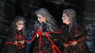 Claudia Huckle, Lise Davidsen and Irmgard Vilsmaier as Norns in Götterdämmerung, The Royal Opera 2018