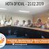 Nota Oficial - Reunião Incorporação de Abono / Limpeza Educação / Adin Professoras Educação Infantil  - 20 de Fevereiro de 2020
