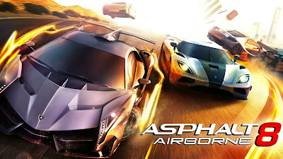 Asphalt 8 Airbone Apk + Mod (Unimited Money) + Data