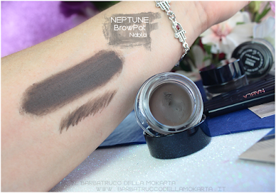 neptune swatches review brow pot nabla eyebrow
