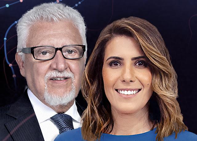 Fernando Mitre e Sheila Magalhães comandam o Band Eleições 2020