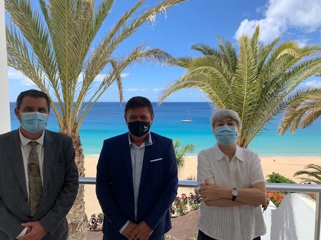 Fuerteventura.-  Hotel Riu Palace Jandía presenta sus nuevas reformas para contribuir a la reactivación económica de Pájara