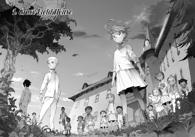 the promised neverland, recenzja, manga, waneko