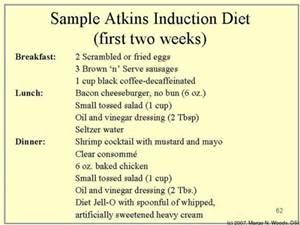 Atkins Induction