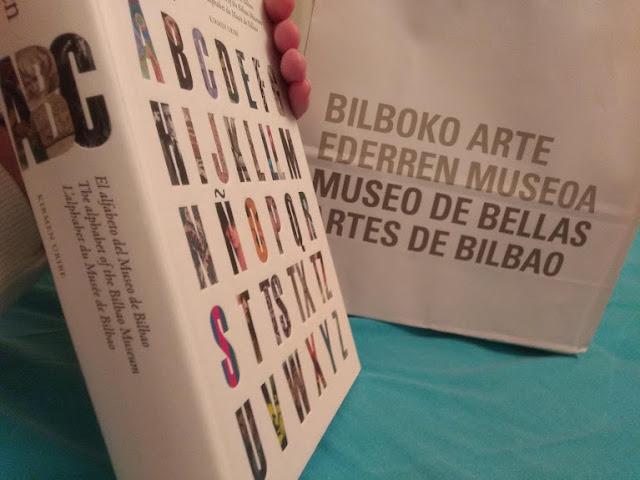 Catálogo de la exposición Abecedario del museo de bellas artes de Bilbao