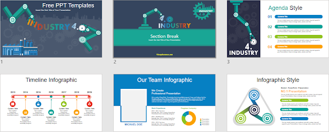 Industry 4.0 Template in PowerPoint
