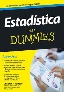 Libro en pdf Estadistica para Dummies Deborah J Rumsey