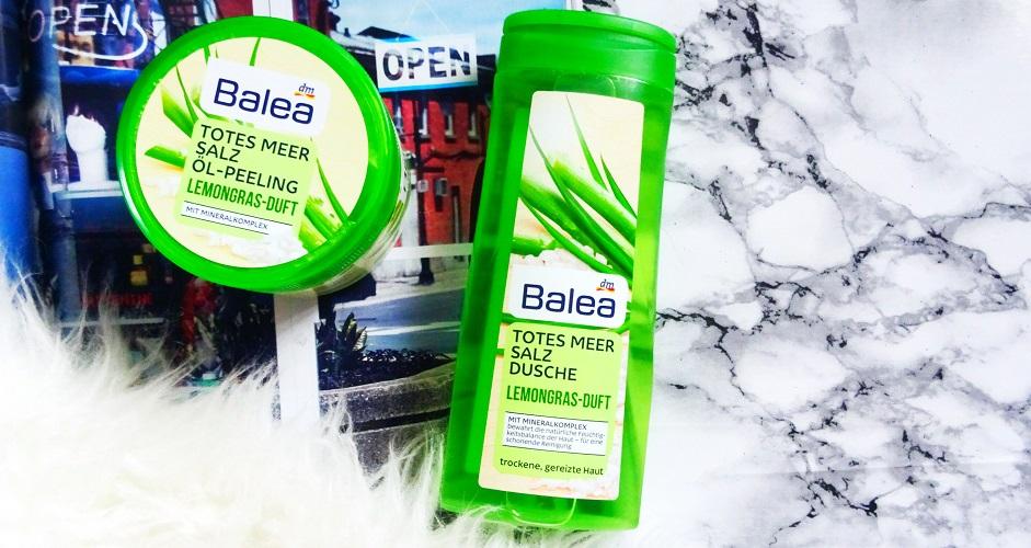 solny peeling LEMONGRAS - BALEA