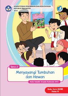 Tema 2 Buku Guru Kelas 3-III Kurikulum 2013 Revisi 2018