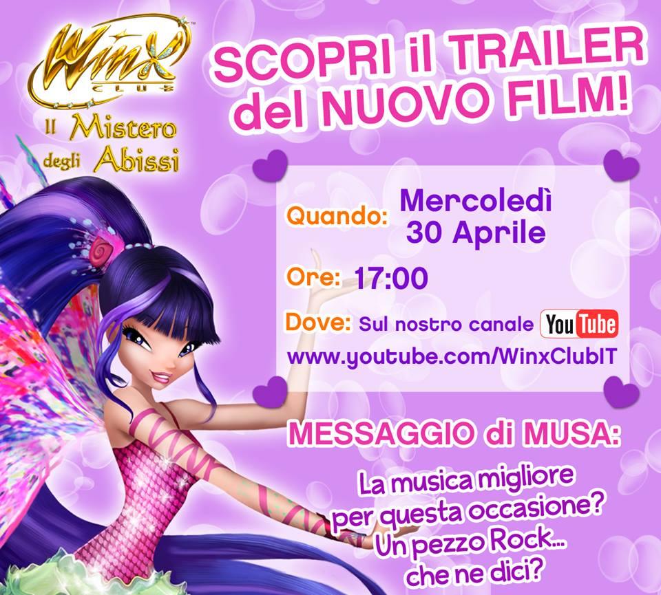 """Dumbo Trailer Y Fecha De Estreno: ¡Fecha De Estreno Del Nuevo Trailer Winx Club """"Il Mistero"""