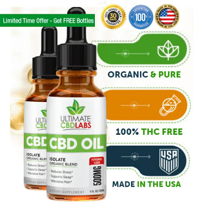 ULTIMATE CBDLABS ISOLATE CBD OIL / REVIEW (THC Free) Available only in USA