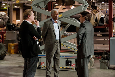 Morgan Freeman as Lucius Fox in The Dark Knight Rises (2012)
