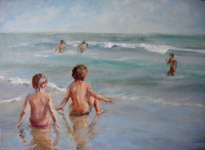 Акварельная и масляная живопись. Maria Isabel Florez Bielsa