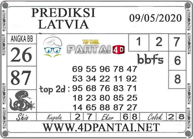 PREDIKSI TOGEL LATVIA PANTAI4D 09 MEI 2020