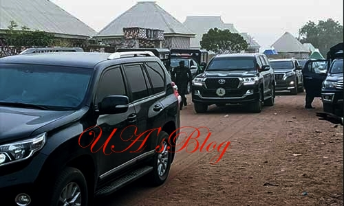 Nasarawa Governor, Abdullahi Sule Visits Deposed Sanusi In Awe