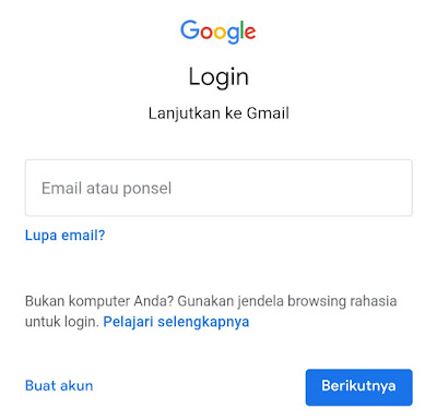 reset password google account android