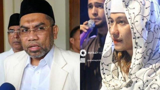 Berdebat Sengit di Depan Layar, Inilah Percakapan antara Habib Bahar dan Ali Ngabalin saat Jeda