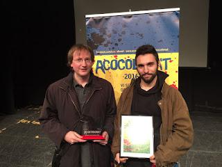 Con Joan Girbau Xalabarder, ganador del primer premio | Cabrones
