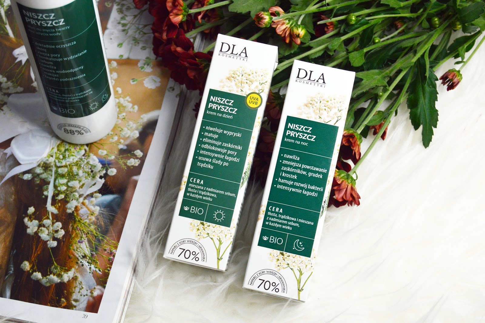 Pierwsze wrażenia – Kosmetyki DLA – na bazie świeżych naparów z ziół