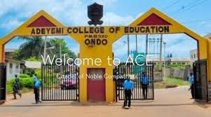 Adeyemi College of Education (ACEONDO) 20192020 1st Batch Direct Entry Admission List, How to check