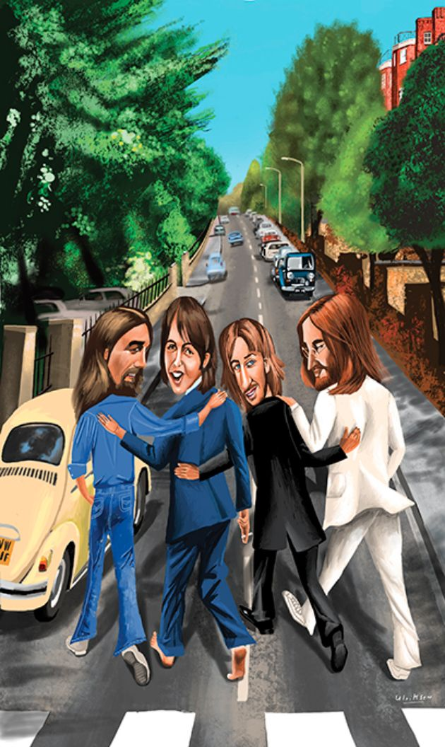 Mark Ulriksen - Illustration Portfolio - The Beatles