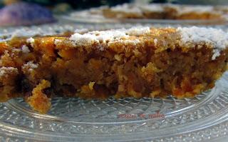 Tarta de zanahoria y calabaza