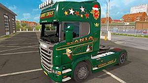 Scania R Merry Xmas skin