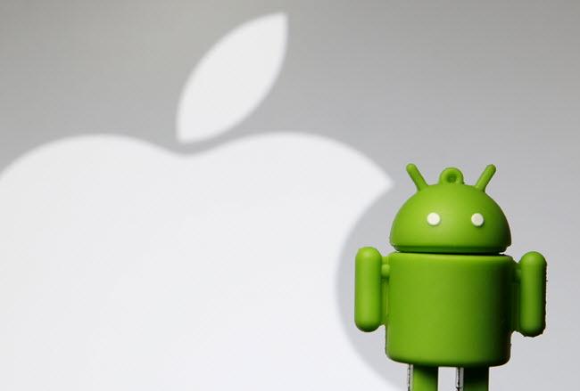 جوجل، iOS، أندرويد