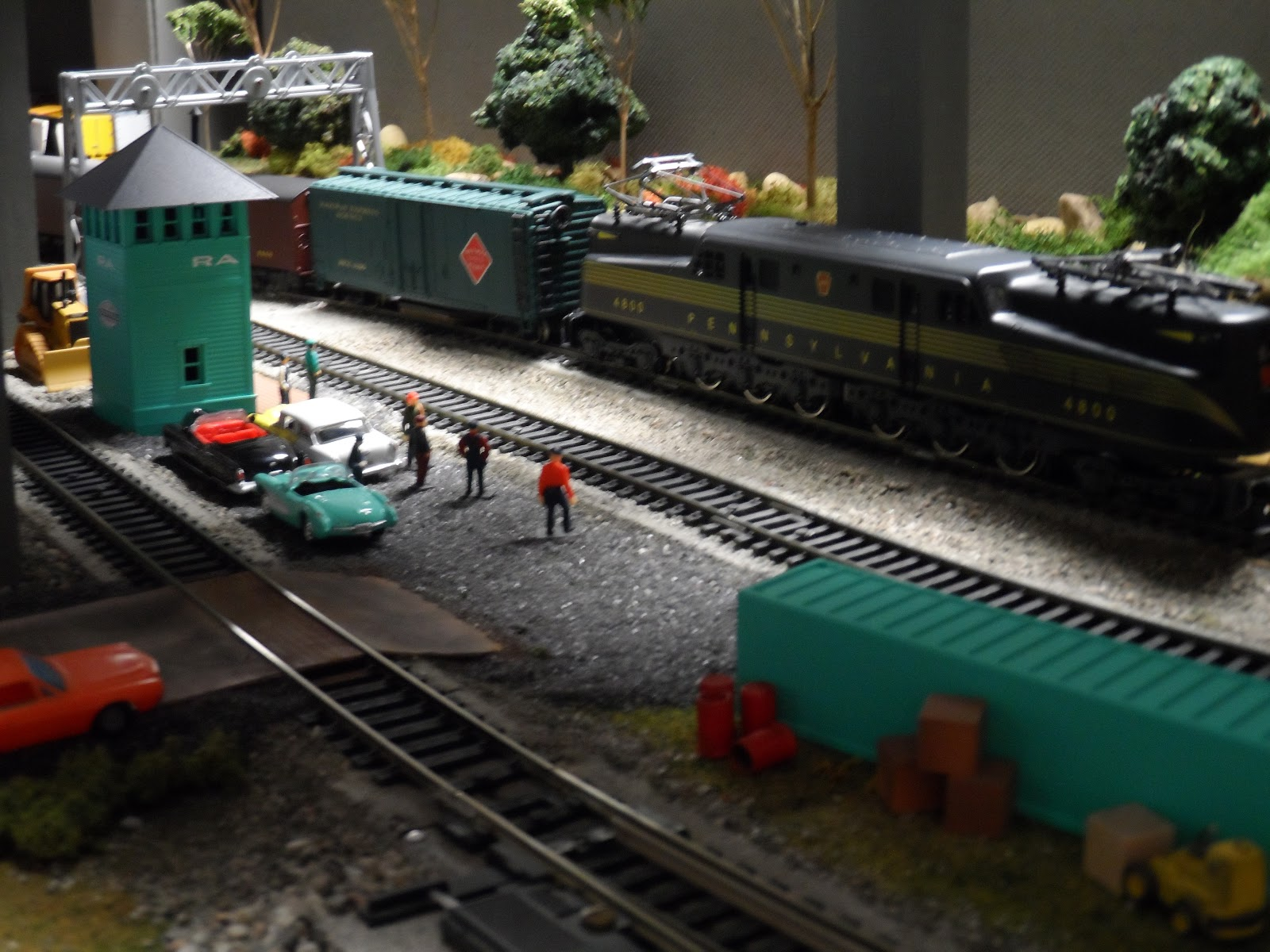 New York Central Train Layout: New 1/87th scale employee
