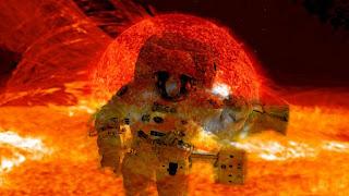 Astronauts on Sun