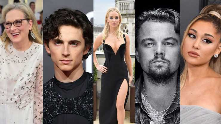 Leonardo DiCaprio, Meryl Streep, Jonah Hill, Timothée Chalamet, Ariana Grande join Jennnifer Lawrence in Netflix Upcoming comedy Dont Look Up