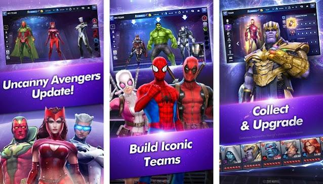 أفضل ألعاب مارفل Marvel للأندرويد