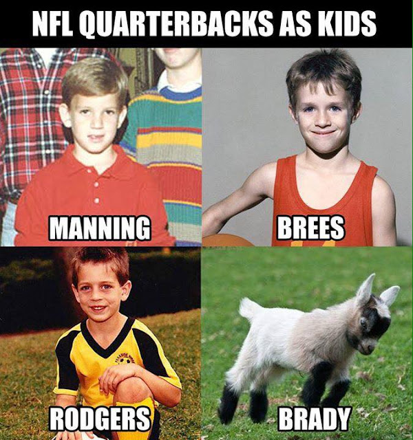 #Nfl #quarterbacks as #kids. #Manning #Brees #rodgers #Brady