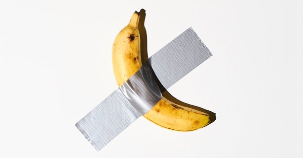 A duct taped banana sold for $120000, Man eats the art