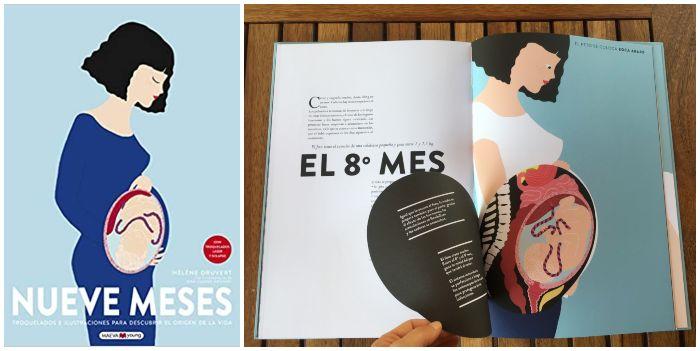 Libro infantil juvenil informativo conocimientos Nueve meses maeva young