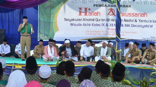 H. Iskandar Dorong Santri Ambil Peran dalam Pembangunan