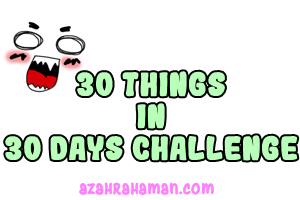 Day 16 ::: Short Term Goals For This Month And Why