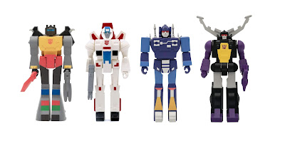 Transformers Generation 1 ReAction Figures Wave 2 by Super7