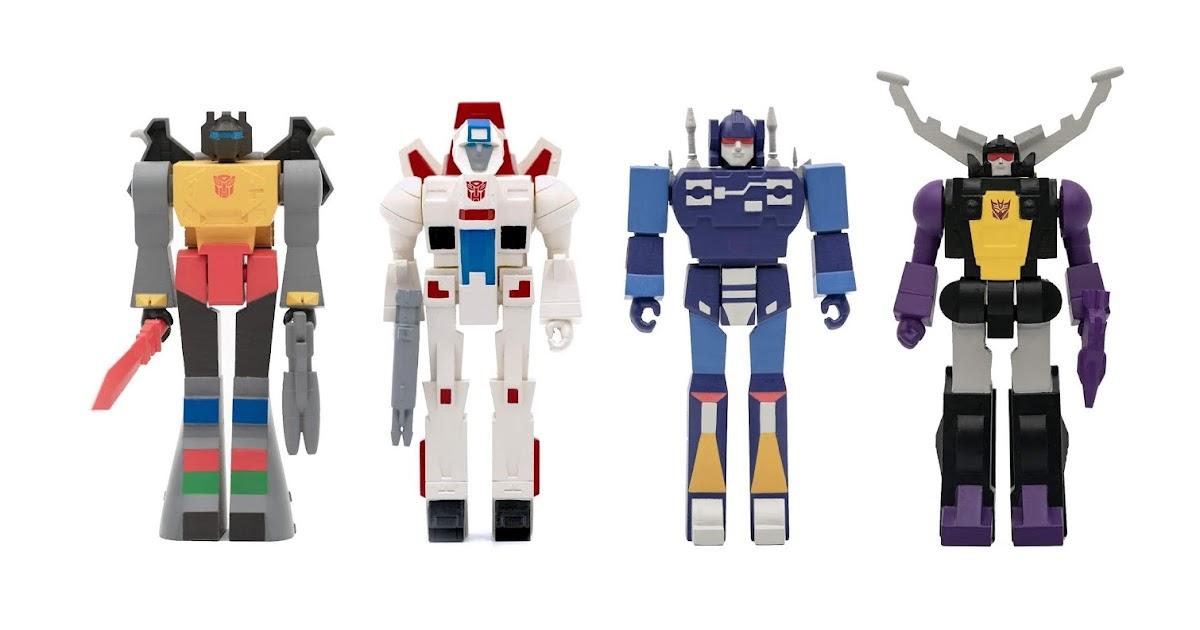 Super 7 Hasbro les Transformers Decepticon SOUNDWAVE RéAction Action Figure