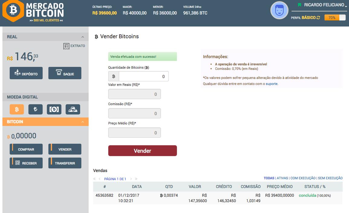 taxa retirada mercado bitcoin elenco di piattaforma di prestito bitcoin