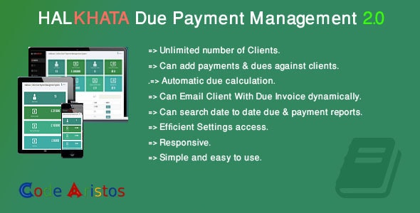 Download Halkhata v2.0 - Due Payment Management